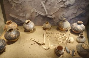 Ancient Chinese burial site