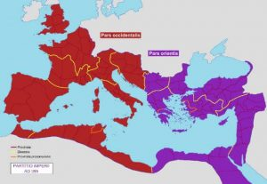 East and West Roman Empire