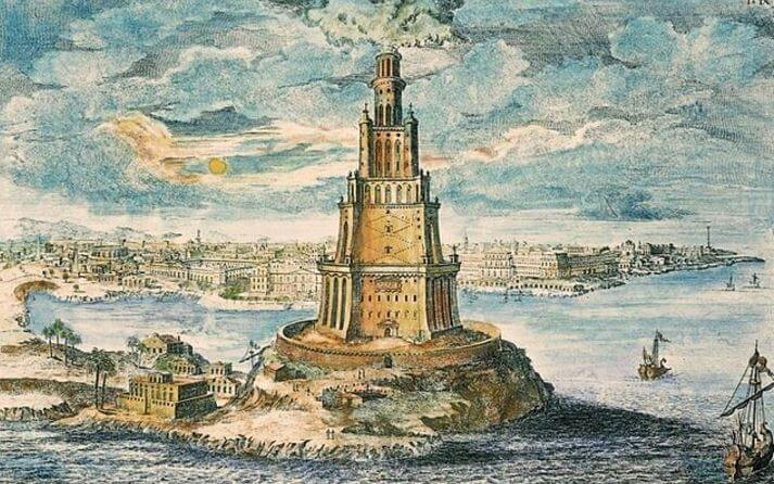 Seven Wonders of the Ancient World - Lighthouse of Alexandria