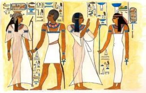 Ancient Egyptian womens clothes