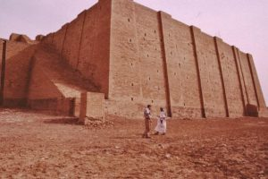 Ancient Babylon tower
