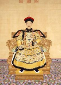 Ancient Chinese Qing Dynasty
