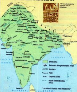 Ancient India map