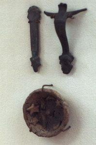 Ancient Metallic clamp