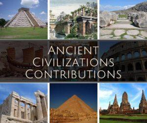 Ancient civilizations contributions