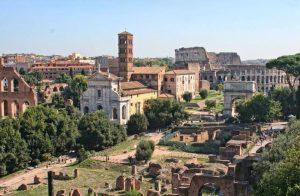 Ancient roman city