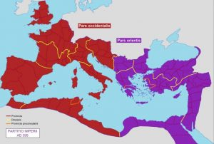 East West Roman Empire