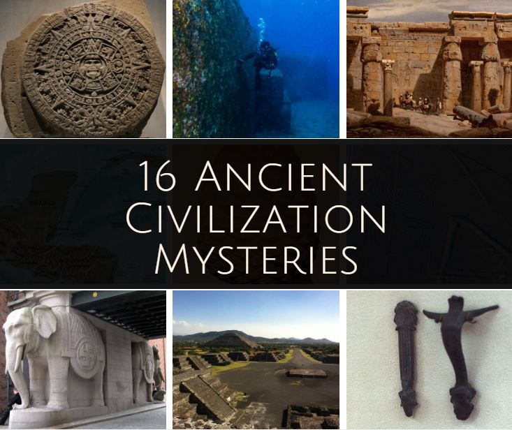 ancient civilization mysteries