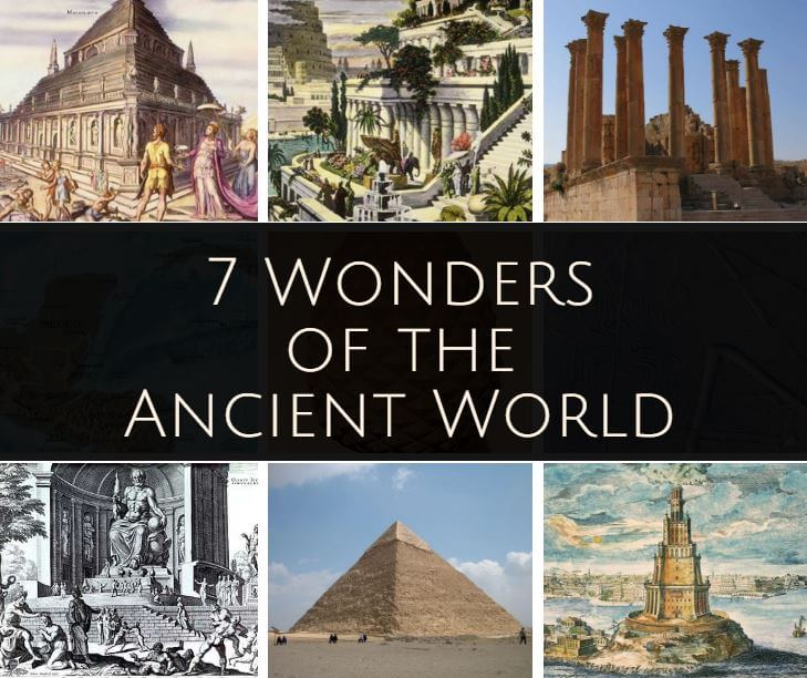 Image result for seven wonders of the ancient world