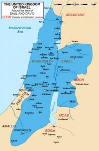 Ancient Hebrew Civilization Map