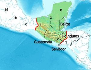 Ancient Maya Civilization map