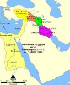 Ancient Middle East timeline