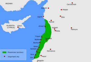 Ancient Phoenician timeline