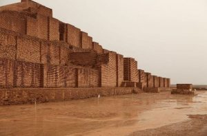 Ancient Sumerian Ziggurat