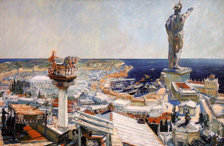 Seven Wonders of the Ancient World - Colossus of Rhodes