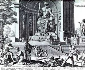 Seven Wonders of the Ancient World - Statue of Zeus