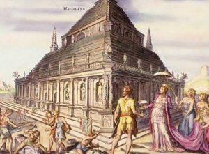 Seven Wonders of the ancient world - Mausoleum at Halicarnassus