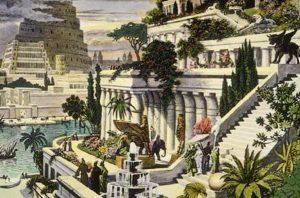 Seven wonders of the world - Hanging Gardens of Babylon