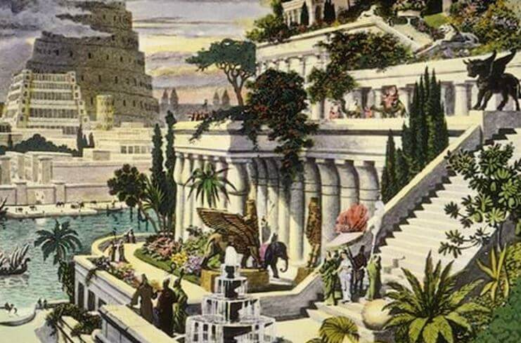 Seven wonders of the world - Hanging Gardens of Babylon