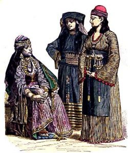 Ancient Arabic clothes
