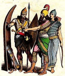 Assyrian dress
