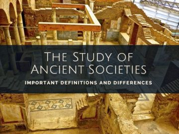 Study of ancient societies