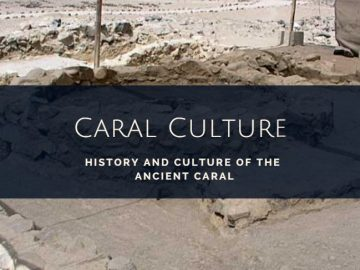 Ancient Caral civilization