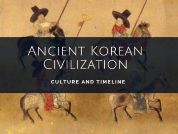 Ancient Korean Civilization History