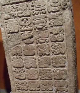Ancient Mayan writings