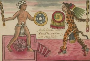 Ancient Aztec warriors