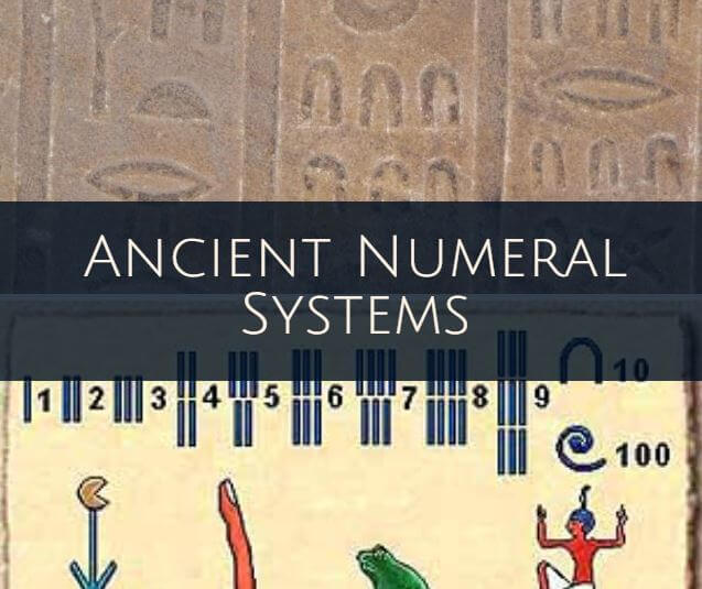 Ancient civilizations number systems