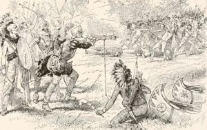 Battle with the Iroquois