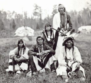 Chippewa men