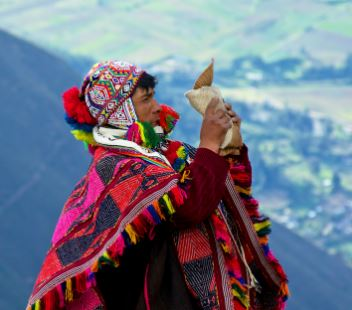 Inca healer