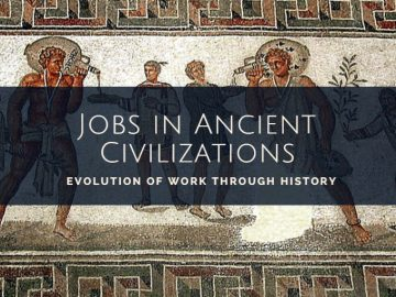 Jobs in ancient civilizations