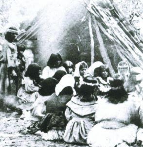 Miwok ceremony