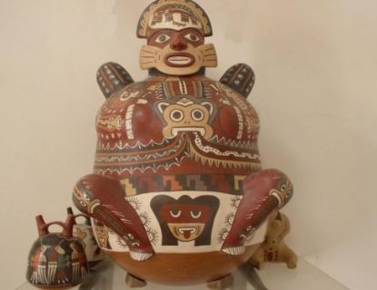 Nazca culture art