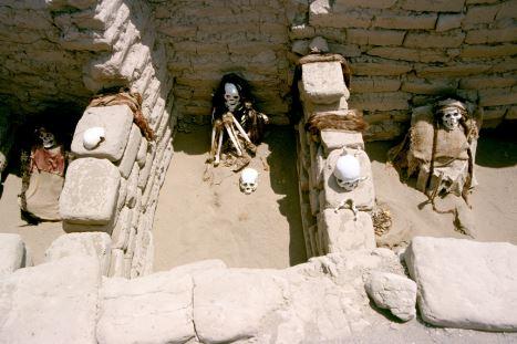 Nazca culture ruins