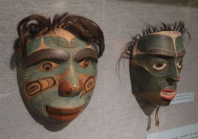 Nootka masks
