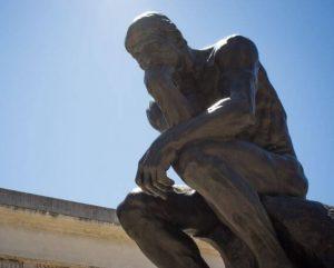 Rodins Thinking man